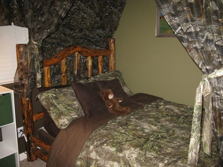 The Funky Letter Boutique How To Decorate A Boys Room With Camo Bed Sets  Ideas Plus