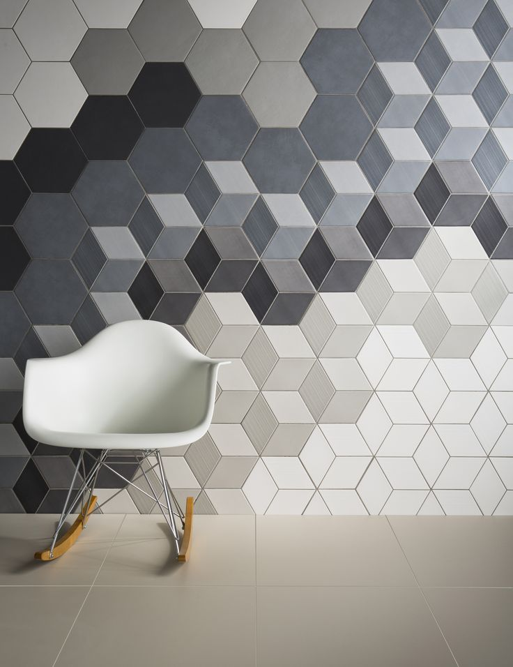 Love hexagonal tiles and baby block pattern!