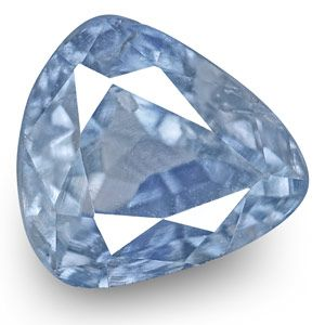 0.52-Carat Unheated Eye-Clean Lively Blue Sapphire from Kashmir