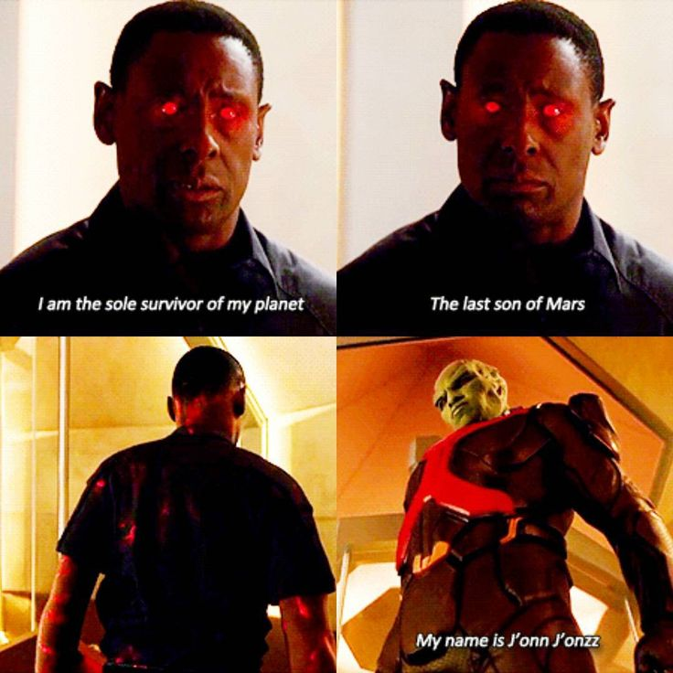 """""""I am the sole survivor of my planet. The last son of Mars. My name is J'onn J'onzz"""" - Hank is J'onn!! #Supergirl ((Whatt??))"""