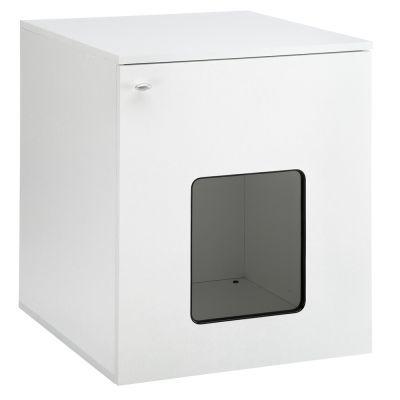 Dřevěná skříňka pro kočky