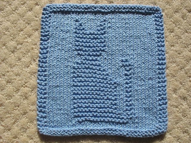 Hello Kitty Dishcloth Knitting Pattern : 37 best cat squares images on Pinterest