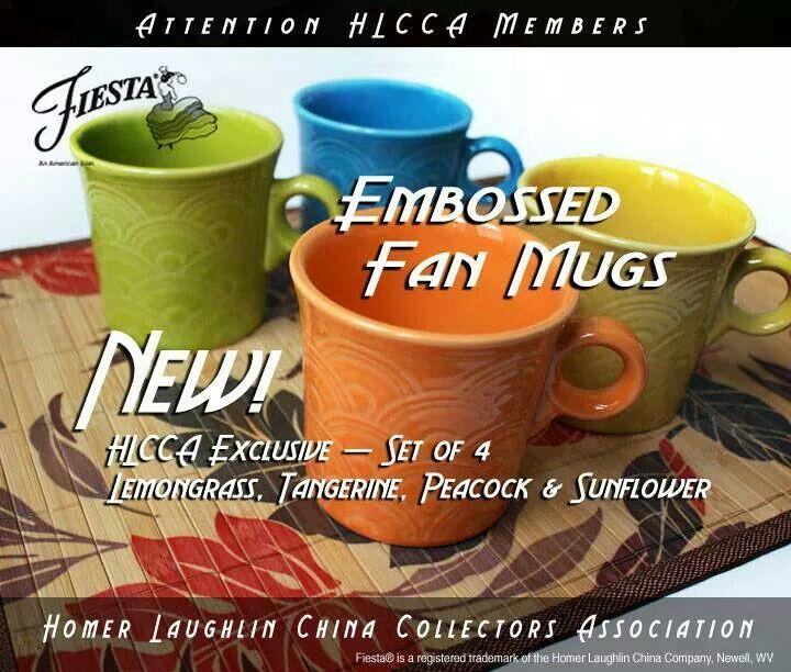 Fiesta Embossed Mugs