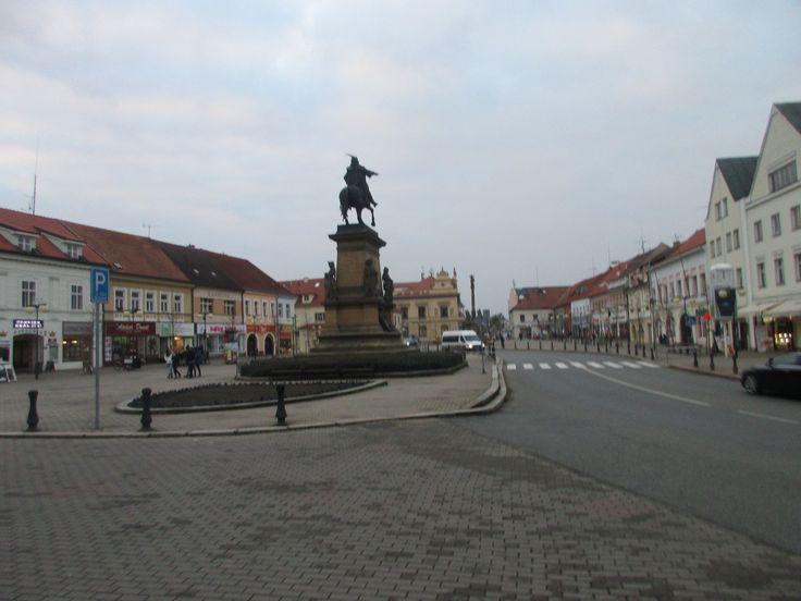 Náměstí v Poděbradech - Středočeský kraj