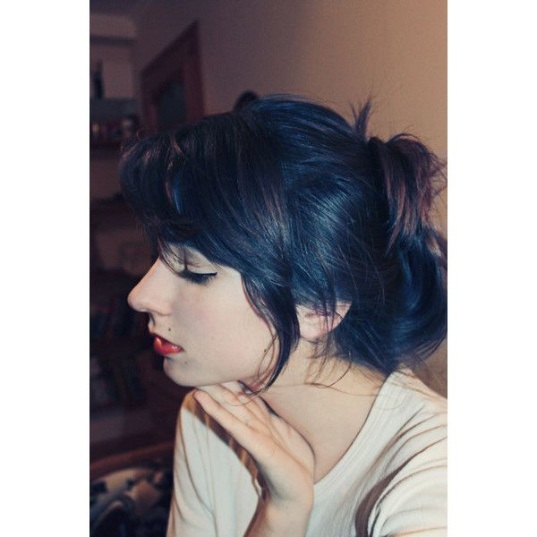 I Want My Black Blue Hair Back So Bad Wish Garnier Still Had That Box Dye This Is Winter Colour Pinterest And