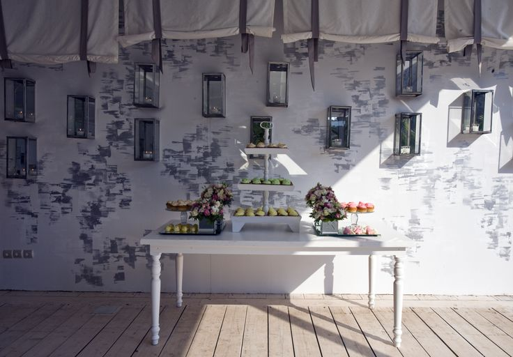 wedding - naming party space by the sea /   / Varkiza Greece / interior designer Sissy Raptopoulou