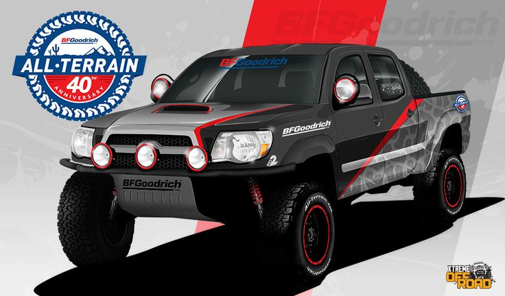 Enter to win The BF Goodrich® Tires Sweepstakes Sweepstakes! Enter for a chance to win a 2011 Toyota Tacoma with performance upgrades built on Xtreme Off Road!#BFGoodrichTires #PowerNation #Sweeps