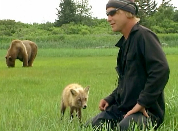 an analysis of the documentary film grizzly man by werner herzog Matthew houston mini analysis: grizzly man the grizzly man, by werner herzog, is a documentary not on nature but on an interesting man named timothy treadwell many people seem to think this film is highlighting nature or the grizzly bears themselves but herzog constructed the film in a way to focus.