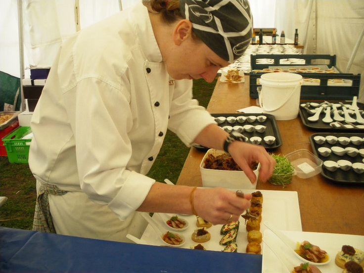 Chef plating