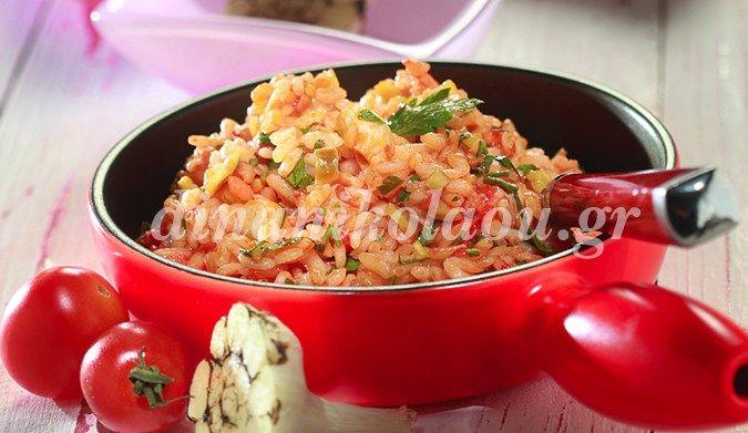 15΄ 20΄ 4 – 6μερίδες –  Το ρύζι καρολίνα δίνει πιλάφι μελωμένο που μοιάζει με ριζότο. Αν το θέλουμε σπυρωτό, επιλέγουμε ρύζι κίτρινο, μακρύκοκο, το οποίο θα μαγειρέψουμε στον ίδι…