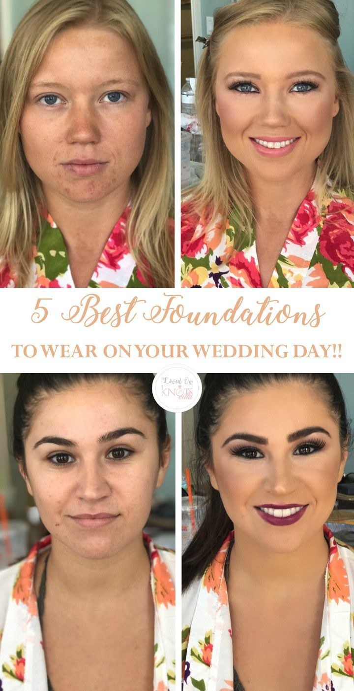 Best Foundations to Wear on Weddig Day