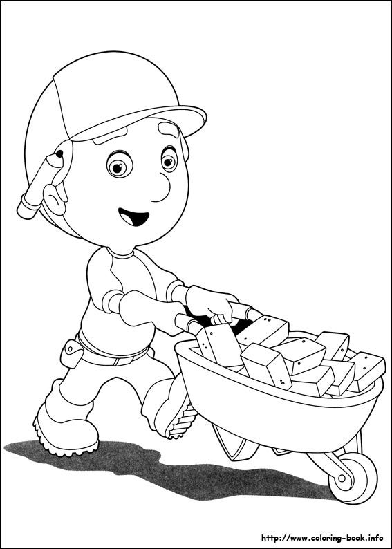 handy manny coloring pages e - photo#16