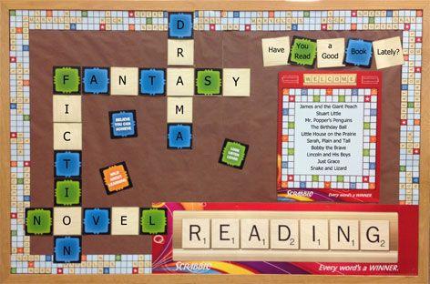 Scrabble Bulletin Board Set #ClassroomDecorations #BulletinBoard