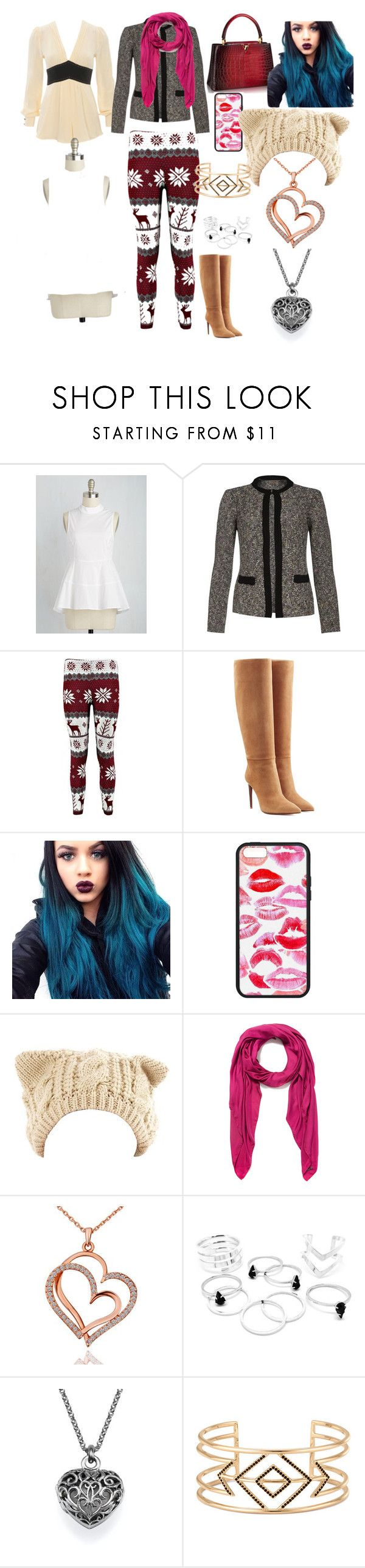 """""""Canada Valentine's Day"""" by lillianrose5055 ❤ liked on Polyvore featuring Ralph Lauren Collection, Faliero Sarti and Stella & Dot"""