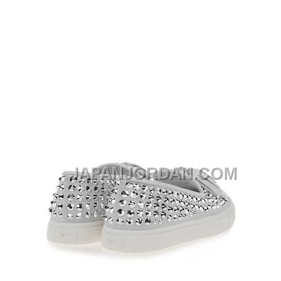 http://www.japanjordan.com/giuseppe-zanotti-womens-crystal-skate-shoes-light-grey-leather.html ホット販売 GIUSEPPE ZANOTTI WOMENS CRYSTAL SKATE SHOES LIGHT GREY LEATHER Only ¥16,427 , Free Shipping!