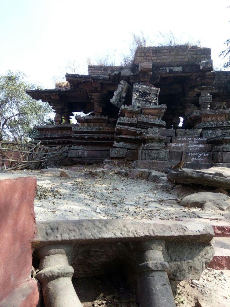 Ruins of kakatiya dynasty