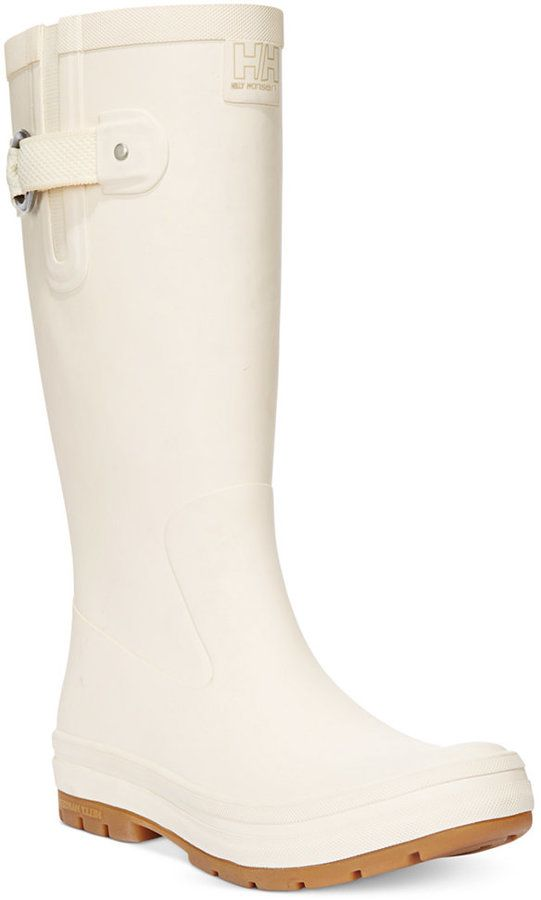 $80, Helly Hansen Veierland Rain Boots. Sold by Macy's. Click for more info: https://lookastic.com/women/shop_items/146660/redirect