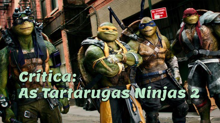 Crítica: As Tartarugas Ninjas - Saindo das Sombras (2016)