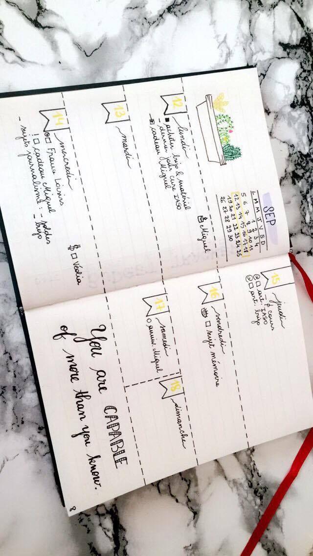 Mon Bullet Journal et mes indispensables Après quelques semaines d'absence je…