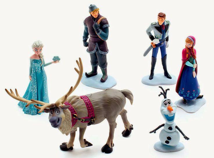 Figuras Disney de Frozen El Reino del Hielo | Merchandising Peliculas