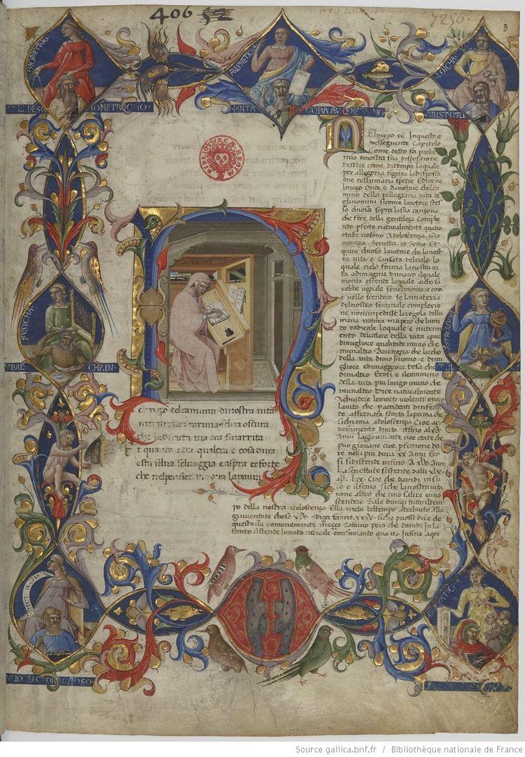 Dante Alighieri, Divina Commedia, prima cantica : Inferno. Con l'Ottimo Commento