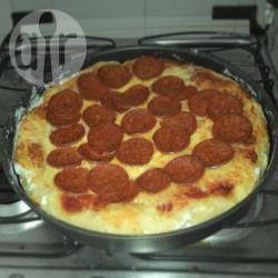 Massa de pizza caseira fácil @ allrecipes.com.br
