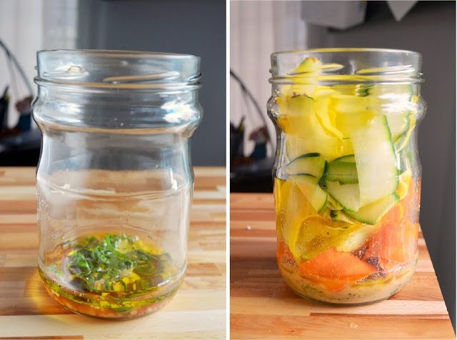 The Inventive Vegetarian: Recipe ReDux: Summer Ribbon Salad