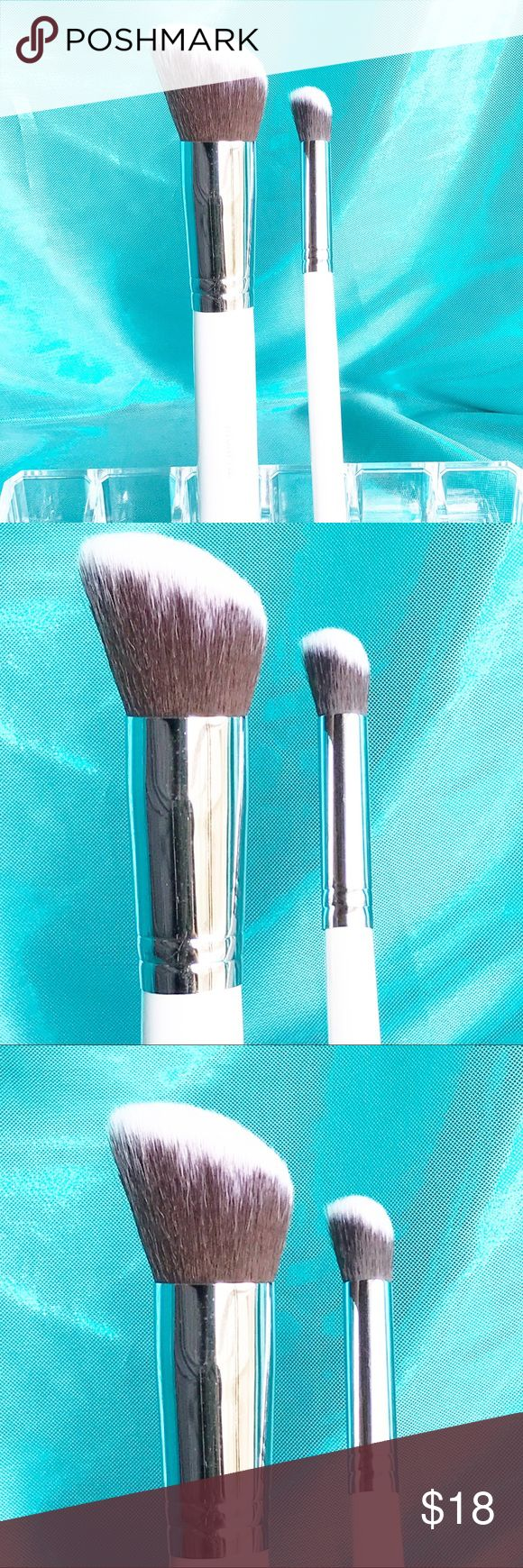 Morphe Angled Buffer Brush Set Morphe Contour Brush Set features super soft bristles and includes an angled buffer and a mini angled buffer. Bundle #99. Check out my other Morphe brushes to bundle and save! Morphe Makeup Brushes & Tools