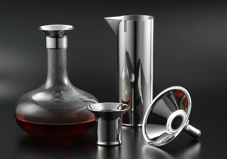 This urban and stylish collection was designed by Danish designer - Erik Magnussen, with the minimal usage of ornamentation and fine detailing to accentuate the beauty of pewter.     These stylish and sexy, must-have accessories make great gift options for that special occasion.