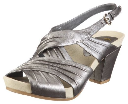 Earth Earthies Capri silber 5300003, Damen, Pumps, Silber  (silber), EU 39.5  (US 8.5) - Damen pumps (*Partner-Link)