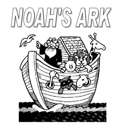 coloring pages noahs ark - photo#38