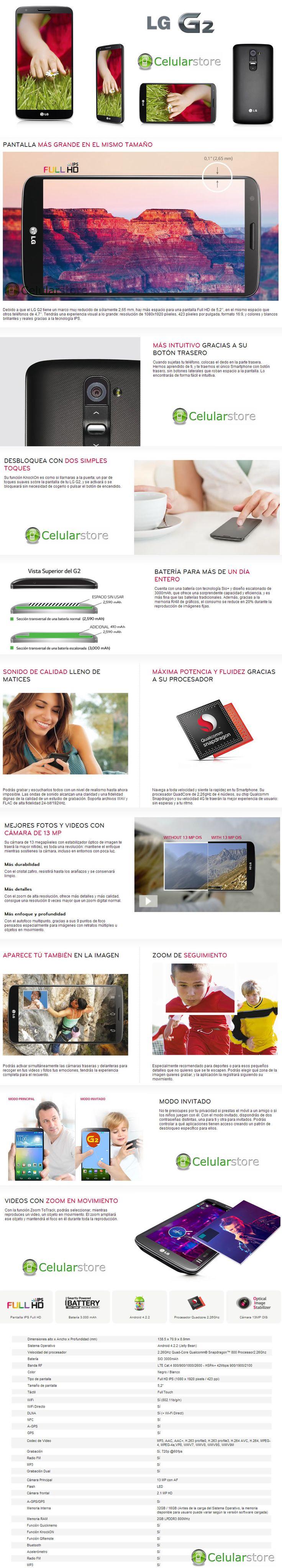 comprar lg g2 / venta de lg g2 en argentina