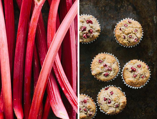 rhubarb, apple + ginger muffin recipe {gluten + dairy-free} – My Darling Lemon Thyme