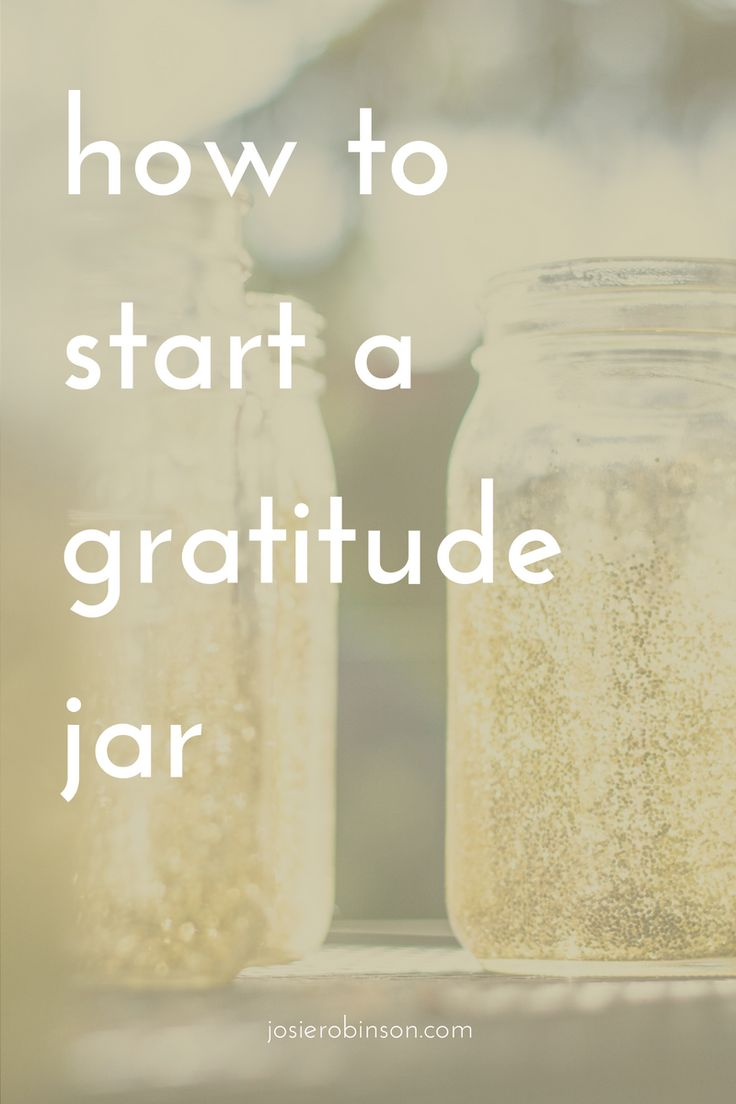 Step-by-step instructions on how to start a gratitude jar & instantly create more happiness in your life... | gratitude jar ideas | gratitude journal ideas |