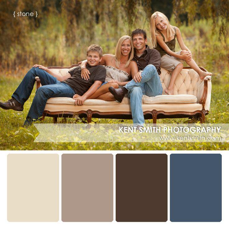 Portrait Palettes {stone} #Photography #clothing #colors