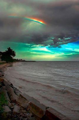 Rainbow thru the Stormy Skies