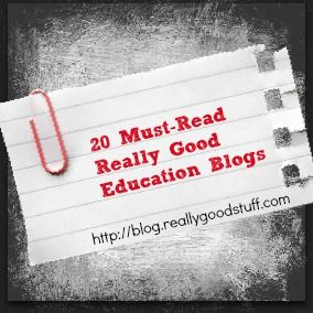 20 Must-Read Really Good Education Blogs | Teacher Ideas | The Teacher's