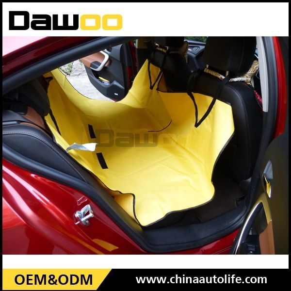 good quality protective leather car seat cover for dogs