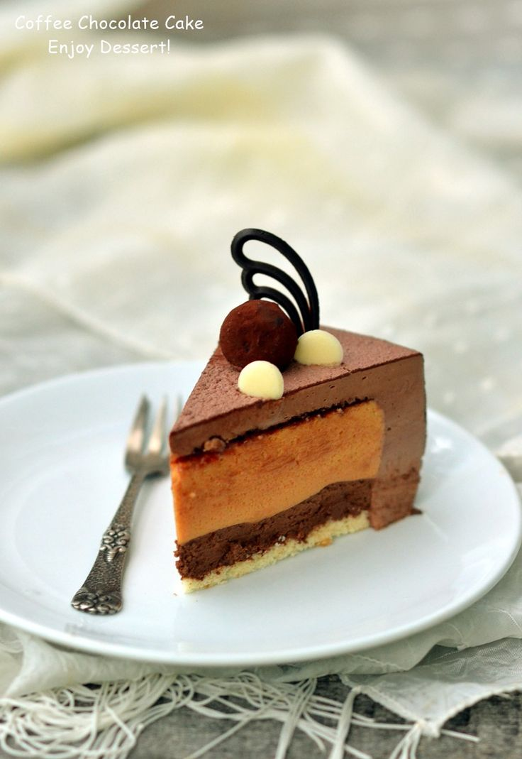 Coffee Chocolate Mousse Cake