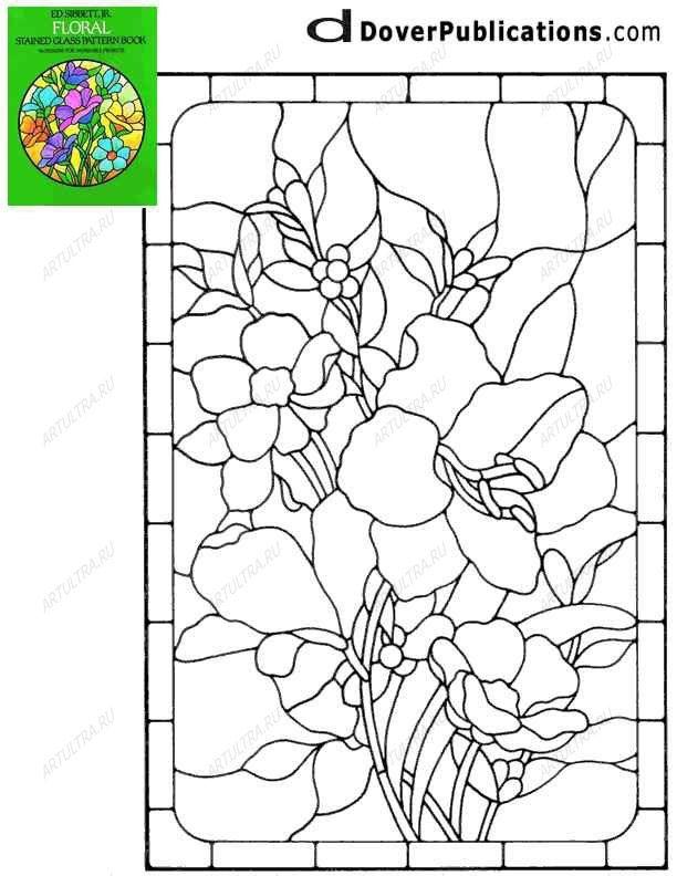 Шаблоны для витражей, можно скачать бесплатно рисунки в формате jpg, gif, pdf и eye