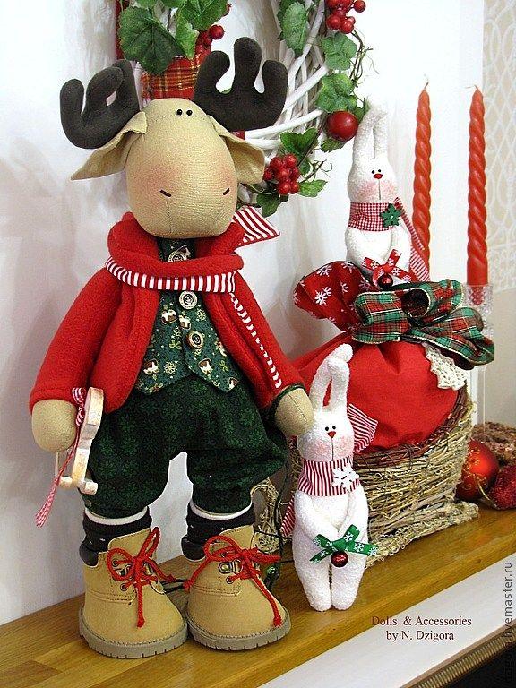 > Тильдомания.Рождественские elfos,