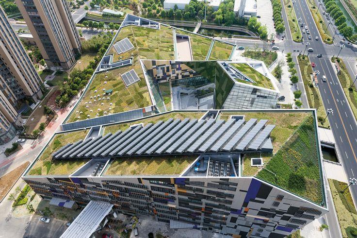 studio505 creates cultural hub in wujin, china with phoenix valley - designboom   architecture