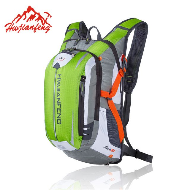 Fair price Professional Cycling Backpack With Helmet Net Reflective Strip Mtb Bike Riding Rucksack Water Outlet Design Pouch Bag HAB053 just only $24.55 with free shipping worldwide  #sportsbags Plese click on picture to see our special price for you