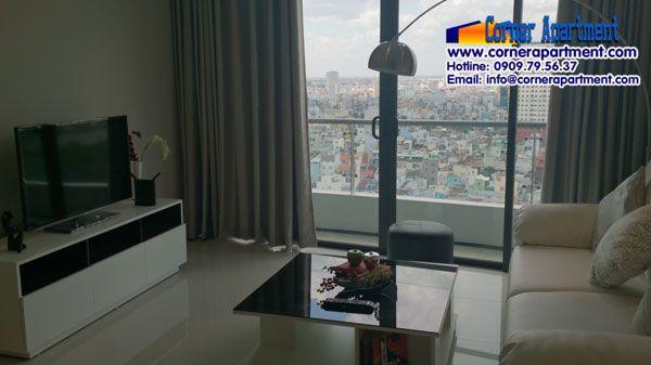 Cho thuê căn hộ City Garden 1 phòng ngủ