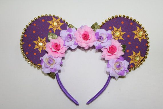 Disney Rapunzel Mickey Mouse Ears by FloofyArts on Etsy