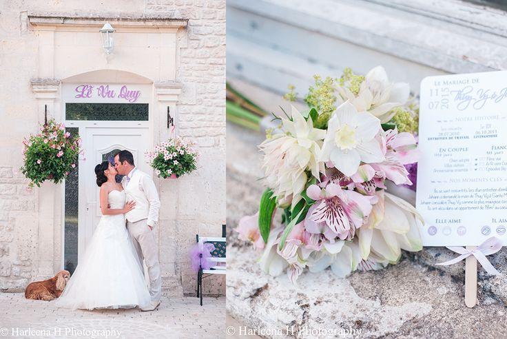 Mariage traditionnel Franco-Vietnamien en Charente
