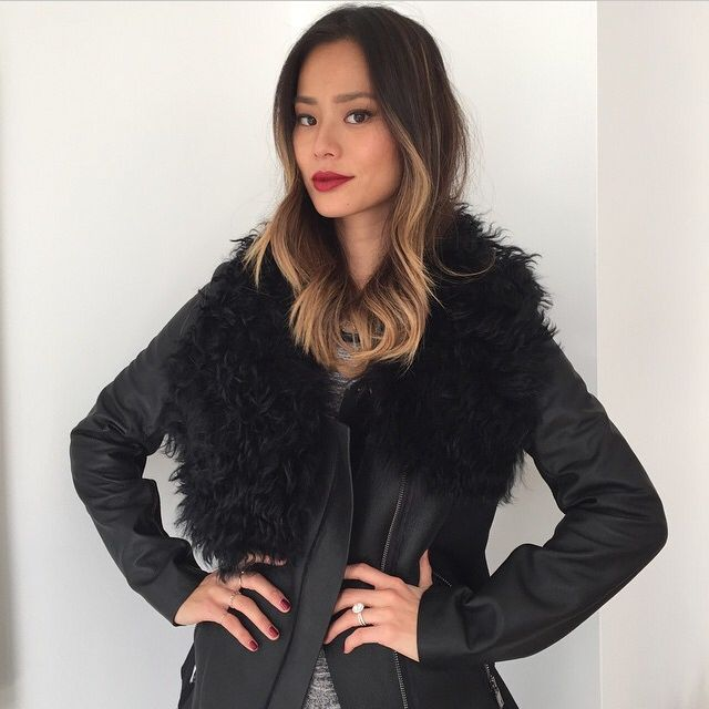 #JamieChung of #WhatTheChung in #AshleyBny. shop at #saks