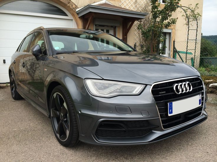 audi a3 sportback 8v tdi 150 quattro ambition luxe pack s line gris mousson full led audi. Black Bedroom Furniture Sets. Home Design Ideas