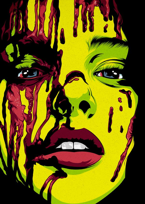 Carrie // Remake by Cranio Dsgn, via Behance