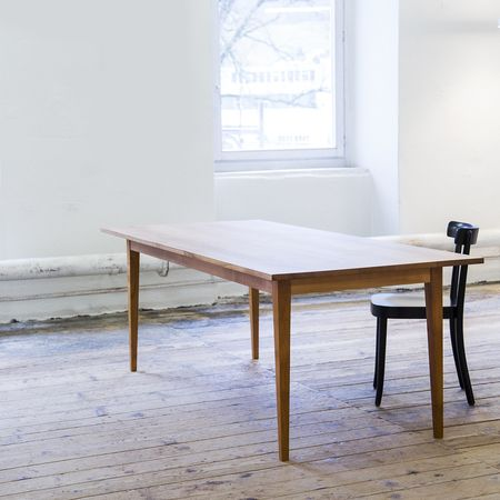 Wooden love   Table and chair by Horgenglarus